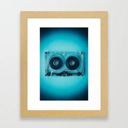 Audio Cassette III Framed Art Print