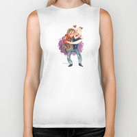 the goonies Biker Tanks featuring Goonies Hug by Super Group Hugs
