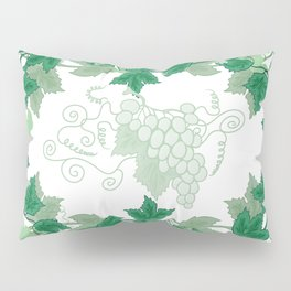 Abstract frame from grapevines Pillow Sham