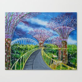 Super Supertrees Canvas Print
