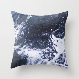Sea of Pulses Throw Pillow