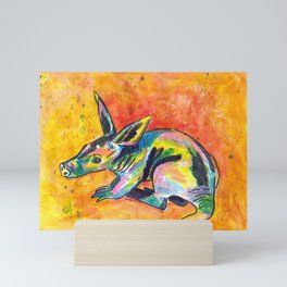 Earth Pig (Aardvark) Mini Art Print