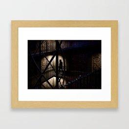 + Inside the Tower, Prague (czk) Framed Art Print