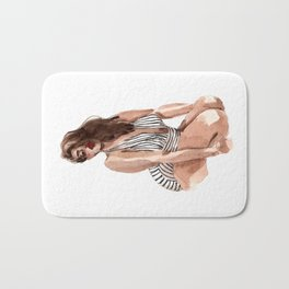 While we are here Bath Mat