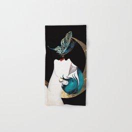 Butterfly Kiss Art Deco Remix Hand & Bath Towel