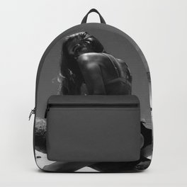 alyshaautumn b&w Backpack