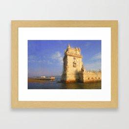 Torre de Belem Framed Art Print