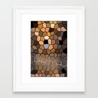 woody Framed Art Prints featuring Woody by thecatalyst