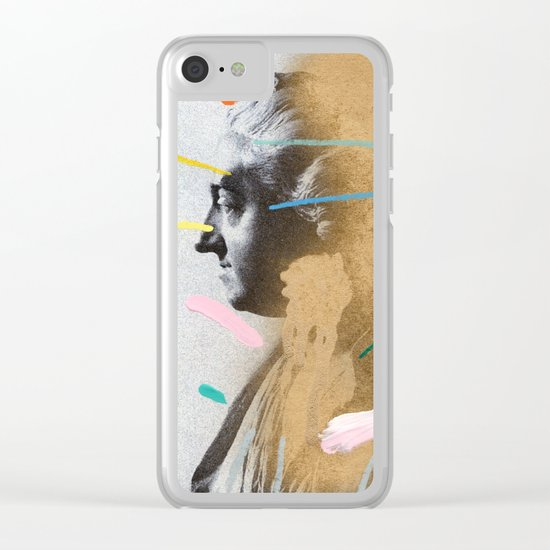 Composition 528 Clear iPhone Case