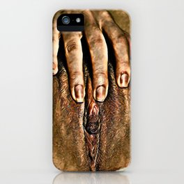 Her Hand iPhone Case