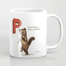 Animals & Instruments ABCs – P Coffee Mug
