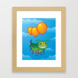 Impatient Caterpillar Framed Art Print