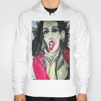 mia wallace Hoodies featuring MIA  by JANUARY FROST