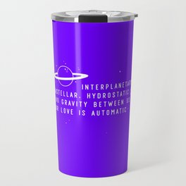 Supernova Girl Travel Mug