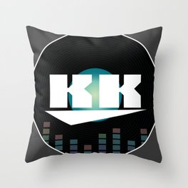 DJ KK Throw Pillow