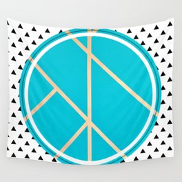 Leaf - small triangle graphic Wall Tapestry