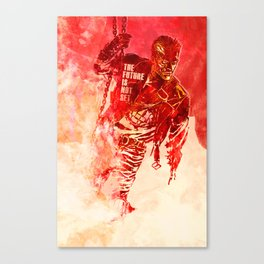 Terminator 2 - The Future Is Not Set Canvas Print