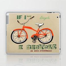 If I can bicycle, I bicycle Laptop & iPad Skin