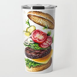 Burger Travel Mug