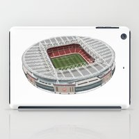 arsenal iPad Cases featuring The Emirates Stadium by Conal Deeney