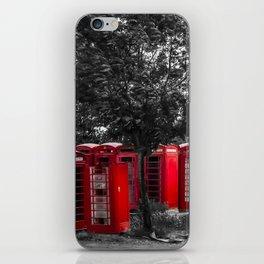 The Phonebox Graveyard iPhone Skin