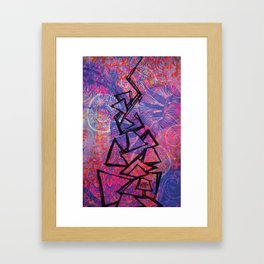 SCOVIA by Jennifer Bukovec Framed Art Print