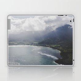 Hanalei Bay - Kauai, Hawaii Laptop & iPad Skin