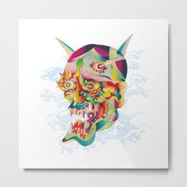 Jalousie Metal Print