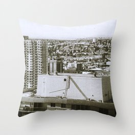 Calgary West, Circa 2009 from the 30th floor Throw Pillow