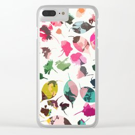 cherry blossom 3 Clear iPhone Case
