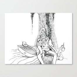 Swamp Thang Canvas Print