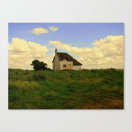 Canary Cottage, Thorney, UK Canvas Print