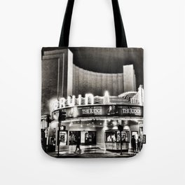 Bruin Theater at Night Tote Bag