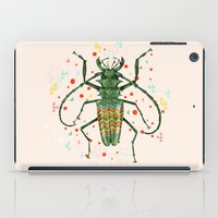 insect iPad Cases featuring Insect V by dogooder
