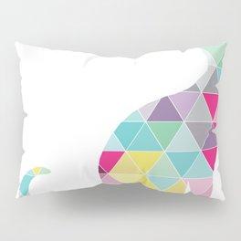 Triangle Cat Pillow Sham
