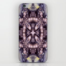 Alien Visitation in Lilac and Lavender iPhone Skin