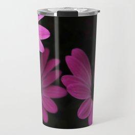 Purple Flowers Travel Mug