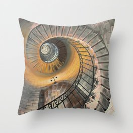 Grand Ascent Throw Pillow