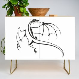 A simple flying dragon Credenza
