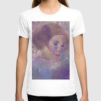 princess leia T-shirts featuring Princess Leia  by Mara Valladares