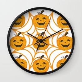 pumpink Wall Clock