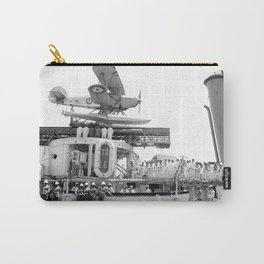 Arrival of the Negus to Haifa 1936 Carry-All Pouch