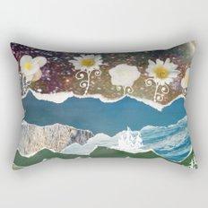 Moon Garden Rectangular Pillow