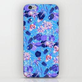In Bloom Flower Print iPhone Skin