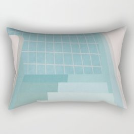 Swimming Pool Summer Rectangular Pillow