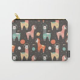 Astronaut Llamas in Space Carry-All Pouch