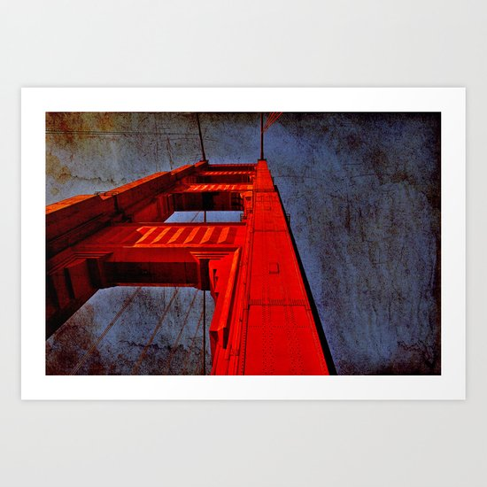 San Francisco- Golden Gate Art Print