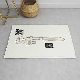 Team The Monkey Wrench Gang Rug