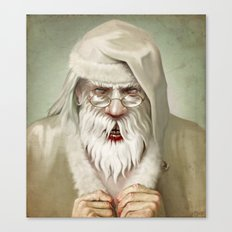 Santa's Secret Canvas Print