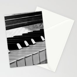 Life is like a piano Stationery Cards